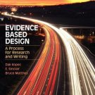 Fashion: Evidence Based Design : A Process for Research and Writing by E....