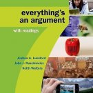 High School Version for Everything's an Argument with Readings by Andrea A....