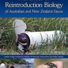 Advances in Reintroduction Biology of Australian and New Zealand Fauna (2015,...