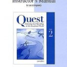 Quest Listen and Speaking in the Academic World : Book 2: Instructor's Manual...