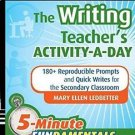 JB-Ed 5 Minute FUNdamentals: The Writing Teacher's Activity-a-Day : 180...