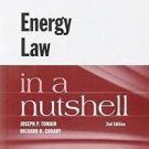 Nutshell: Tomain and Cudahy's Energy Law in a Nutshell, 2d by Joseph P....
