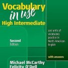Vocabulary in Use High Intermediate Student's Book with Answers by Michael...