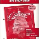 Government in the U. S.: United States Government Reading Essentials and...