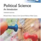 NEW - Free Express Ship - Political Science : An Introduction by Roskin (13 Ed)