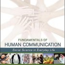 NEW - US EDITION - Fundamentals of Human Communication by DeFleur (4 Ed)