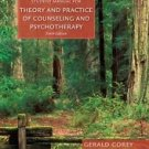 NEW - Student Manual - Theory & Practice of Counseling & Psychotherapy by Corey