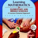 NEW - Learning Mathematics in Elementary and Middle Schools (5 Ed) - US EDITION
