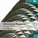 NEW - Free Express Ship - Structural Analysis by Hibbeler (9 Ed in SI UNITS)