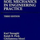 NEW - US HARDCOVER - Soil Mechanics in Engineering Practice by Terzaghi (3 Ed)