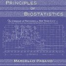 NEW - US HARDCOVER - Free Ship - Principles of Biostatistics by Pagano (2 Ed)