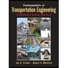 NEW - Free Ship - US HARDCOVER - Fundamentals of Transportation Engineering