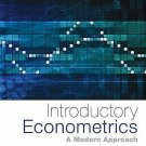 NEW - Express Ship - HARDCOVER - Introductory Econometrics by Wooldridge (6 Ed)