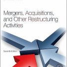 NEW - US HARDCOVER - Mergers, Acquisitions and Other Restructuring Activities 7E