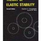 NEW - Free Ship - Theory of Elastic Stability by Timoshenko and Gere (2 Ed)