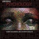 NEW - US HARDCOVER EDITION - Abnormal Psychology by Rosenberg, Kosslyn