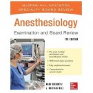 NEW - Free Express Ship - Anesthesiology Examination and Board Review (7 Ed)