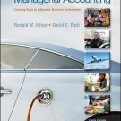 NEW - Free Express Ship - US HARDCOVER - Managerial Accounting by Hilton (10 Ed)