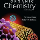 NEW - Free Express Ship - US HARDCOVER - Organic Chemistry by Carey (10 Ed)