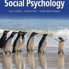 NEW - US HARDCOVER - Free Express Ship - Social Psychology by Kassin (9 Ed)