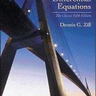 NEW - Free Express Ship - A First Course in Differential Equations - Zill (5 Ed)