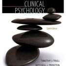 NEW - Free Express Ship - US HARDCOVER - Clinical Psychology by Trull (8 Ed)