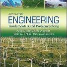 NEW - US HARDCOVER - Engineering Fundamentals and Problem Solving by Eide (6 Ed)