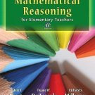 US HARDCOVER - Mathematical Reasoning for Elementary School Teachers - Long 6 Ed
