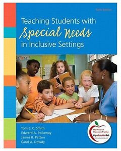 ORIGINAL US EDITION - Teaching Students with Special Needs in Inclusive Settings