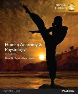 NEW Free Ship - BOOK ONLY. NO CODE - Human Anatomy & Physiology - Marieb (10 Ed)