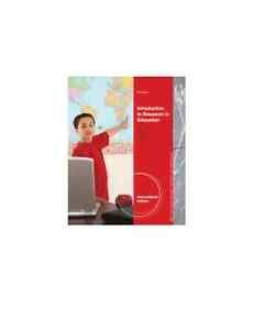 NEW - Free Express Ship - Introduction to Research in Education by Ary (9 Ed)
