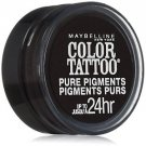 Maybelline Eye Studio Color Tattoo Pure Pigments, #30 Black Mystery, 0.05 Oz