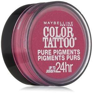Maybelline Eye Studio Color Tattoo Pure Pigments, #20 Pink Rebel, 0.05 Oz