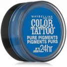 Maybelline Eye Studio Color Tattoo Pure Pigments, #10 Brash Blue, 0.05 Oz