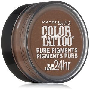 Maybelline Eye Studio Color Tattoo Pure Pigments, #45 Downtown Brown, 0.05 Oz