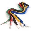 NECK Flat LANYARD ID BADGES Strap/Holder in Yellow