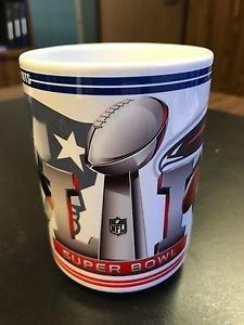 Custom Made New England Patriots & Atlanta Falcons SuperBowl LI 15oz Coffee Mug
