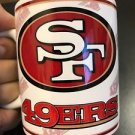 Custom Made San Francisco 49ers 11oz Coffee Cup with your name.