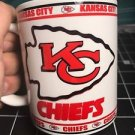Custom Made Kansas City Chiefs Coffee Cup with your name.