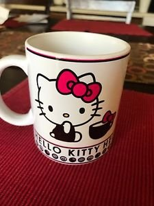 Custom Made Hello Kitty 11oz Coffee Cup with your name.