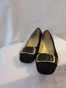 Talbot's Women's Size 6B Leather Flats made in Brazil