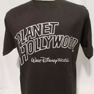 Planet Hollywood T Shirt Men's Large Downtown Disney Short Sleeve Black
