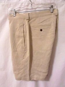 TOMMY BAHAMA Shorts Pleated Front Men's Size 36 Color Beige