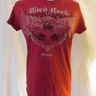 Hard Rock Hotel T Shirt Women's Small Short Sleeve Eagle Orlando