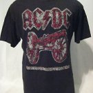 "AC/DC ""For Those About To Rock!"" T Shirt Men's Large Short Sleeve Black"