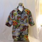Hawaiian Big Men's 2XL Hawaiian Vintage Collection Short sleeve Shirt Mulit Colo