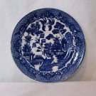 "Blue Willow Saucer Classic Blue & White Design 6"" Made in Japan Vintage"