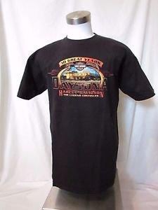 Harley Davidson Men's T Shirt Large  Short Sleeve Daytona Beach Fl