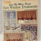 Sew No More Easy Window Treatments  Pattern Idea Booklet  Leisure Arts Leaflet