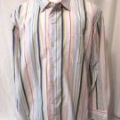 Tommy Bahama Men's Shirt XL/TG Dress Shirt Long Sleeve Muti Stripes